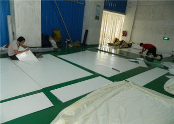 PVC Fabric Workshop 1 ... & Factory Tour - Guangzhou Carpa Tent Manufacturing Co. Ltd.