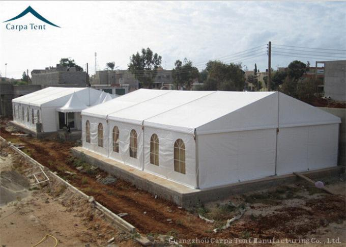 Width 15m  Functional Aluminium Warehouse Tents For Factory Fireproof