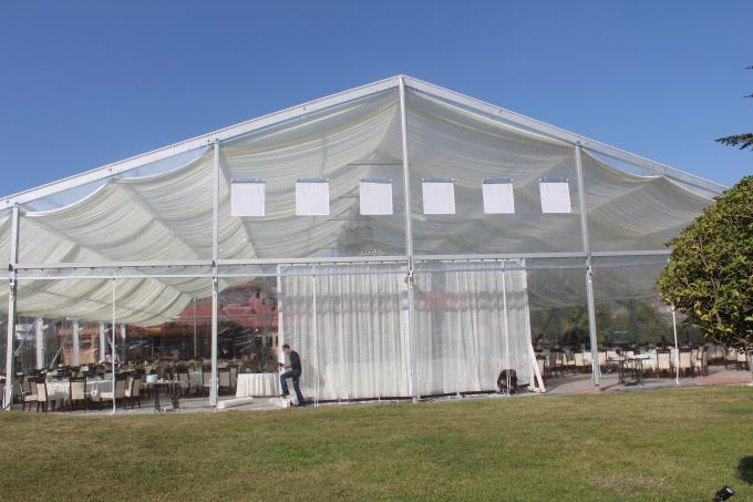 Sound-Proof Waterproof Conference Clear Span Structure Tent For 100 People & Proof Waterproof Conference Clear Span Structure Tent For 100 People