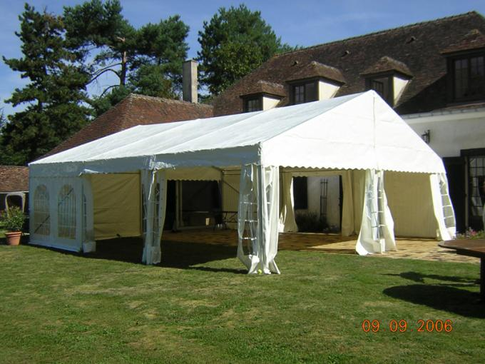 6mx9m Temporary Roof Structure Outdoor Party Tents For Garden Apartment