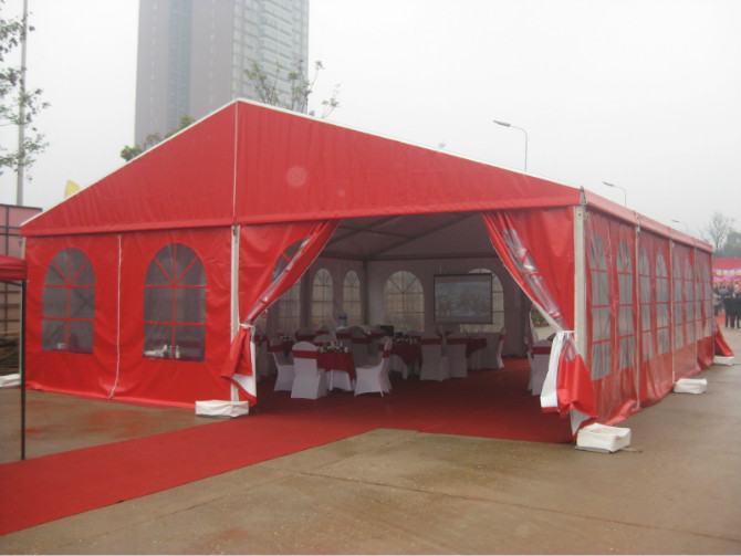 Portable Garden Party Tent 400 People Customized Size ISO9001 SGS
