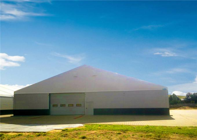 Removeable Re Locatable Industrial Storage Tents Heavy Duty 15m X 30m , 20m X 30m