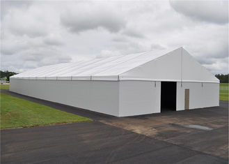 China Rain Resistant 20mx50m Clear Span Fabric Structures Large Warehouse supplier