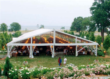 China Colorful Decoration Canopy 20m * 20m Clear Span Structure Tent For Party Banquet supplier