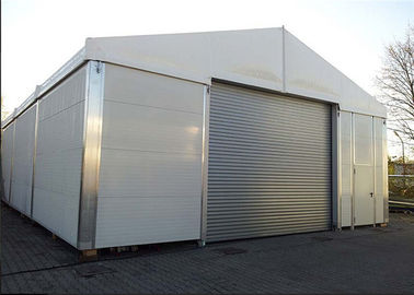 China Rain Resistant 10m Width Sandwich Wall For Small Workshop Aircraft Hangar supplier