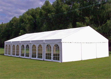 China 15x30m Outdoor Event Tents Wooden Floor Air Conditioner For 600 People supplier