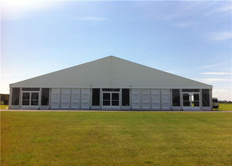 China 25m * 40m ClearSpan Structure ABS Wall Marquee Tent Portable Air Conditioner Canopy supplier