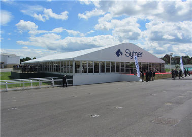 China White Durable Dome Structure Canopy Tent 25m By 40m For Trade Show supplier