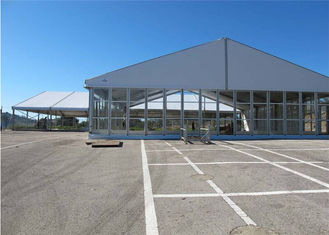 China 25m * 30m Permanently Installed Glass Wall Tents For Commercial Ceremony supplier
