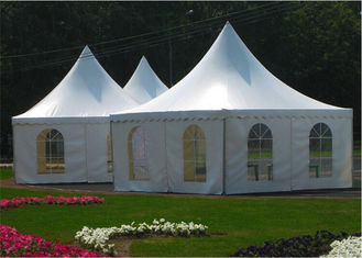 China Relocatable Garden Backyard Pagoda Canopy Party Tent Clear Span Structure supplier