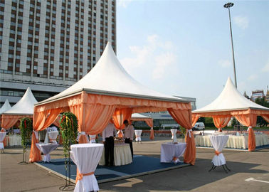 China 2040 PVC Pagoda Party Tent 6m * 6m Gazebo Canopy With Aluminum Alloy Structure supplier