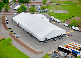 China Rainproof Fabric Sidewall Strong Event Tent Accommodation With Heavy Duty Material supplier