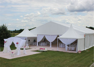 China Great Peak 12m By 24m Durable Event Marquee Tents For Party Banquet Exhibition supplier