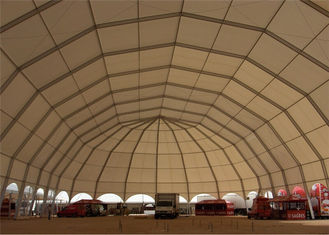 China 20m Diameter Waterproof Industry Business Clearspan Structure Polygon Shelter supplier