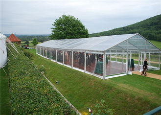 China Portable Tent House Large Transparent Event Tent Weather Proof Fabric Marquee supplier