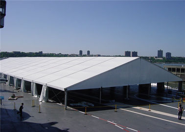 China 5m Bay Distance White Fabric Marquee Tent Folding Tent UV - Resistant supplier