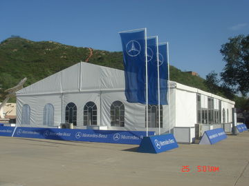 China 12m*35m Rain Shelter Outdoor Event Tents Clearspan Structure For Large Party supplier