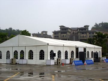 China Easy Set Up Luxurious Large Wedding Tents Waterproof Fabric Marquee supplier