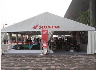 China Water Fire Proof  Car Show Exhibition Tents Fabric Structure Environmentally supplier