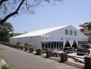 China Customized Permanent Classical Roof Tent European Style For Trade Show supplier