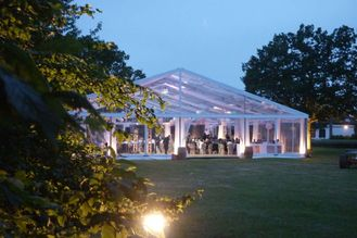 China Cheap Waterproof PVC Outdoor 20m*30m Wedding Party Tents For Sale supplier