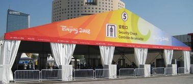 China 800 People Ice Hockey Ice Rink Curved Marquee Tents UV - Resistant supplier