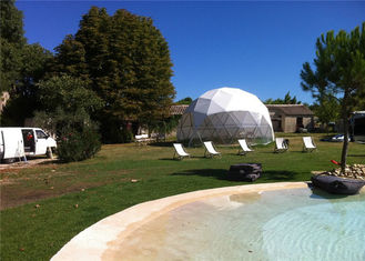 China 6m Diameter Small Geodesic Dome Tent For Home , Party , Reception supplier