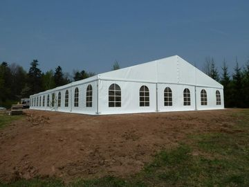 China Clearspan Struture White Cover Large Wedding Tents For 350 People supplier