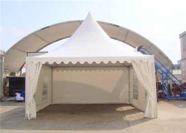China SGS Customized Size Clear Span Structure White Pagoda Party Tent supplier