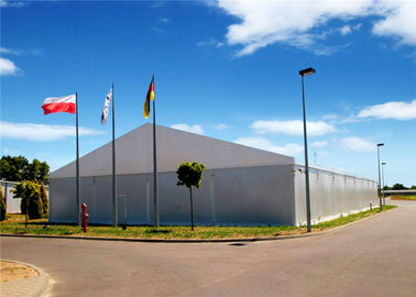 China Removeable Re Locatable Industrial Storage Tents Heavy Duty 15m X 30m , 20m X 30m supplier