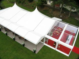 China 300 Seater Fireproof European Large Wedding Tents / Outdoor Garden Party Tent supplier