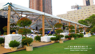 China Large Capacity Pavilion Aluminum Frame Tent / Outdoor Event Tent supplier
