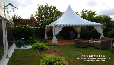 China Fire Retardant Backyard Pagoda Tents For Christmas Festivals / Anniversary Parties supplier