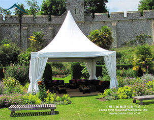 China Flame Retardant Outdoor High Peak Pagoda Tents / Wedding Party Marquee supplier