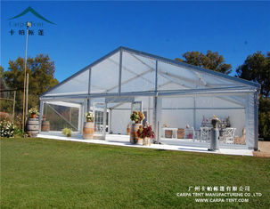 China Sun Proof Spacious Transparent Outdoor Event Tent / Custom Commercial Canopy Tent supplier