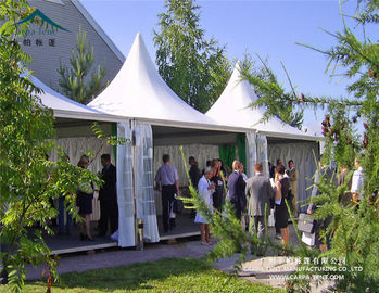 China 6mx6m Promotion Application  Aluminum Alloy Frame Pagoda Tent for Sale supplier
