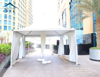 China Water Resistant PVC Fabric Tension Pagoda Tents 5 X 5m Aluminum Frame supplier