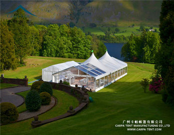 China Customizable Outdoor Event Tents / Flame Retardant Waterproof PVC Marquee supplier