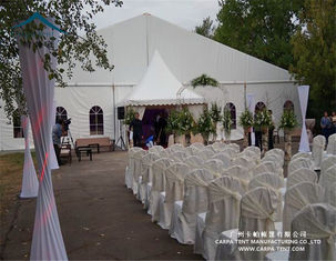 China Rainproof PVC Fabric Wedding Marquee Tent Max. Wind Load 80 ~ 100km/H supplier