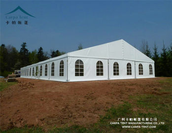 China White / Clear Fabric Large Wedding Tents In Kenya / Backyard Tent Party supplier