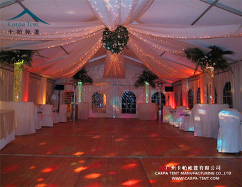 China Environmentally Anti - Fungus Large Wedding Tents For Indian Market supplier