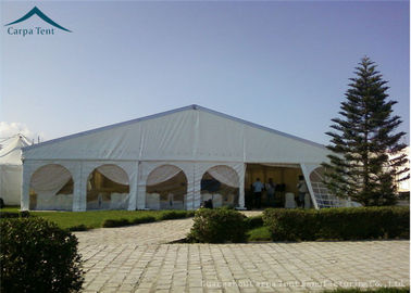 China Large Scale Temporary Aluminium Frame Tents With Clear Windows For Function Banquet Export to South Africa supplier