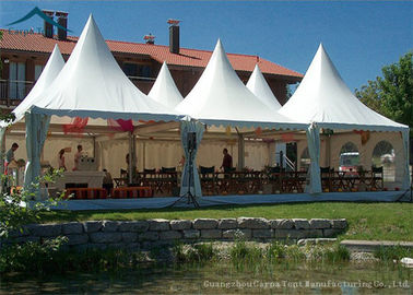 China European  Style Pagoda Marquee Tents , Outdoor Wedding Tent 5m By 5m supplier