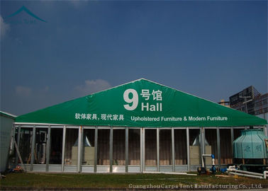 China Widely Space 20m By 30m  Exhibition Tents  Hop - Dip Galvanized Steel supplier