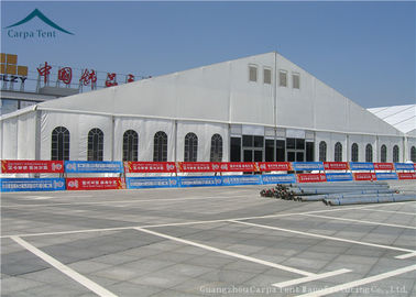 China Flame Resistant Commercial Exhibition Tent 30m*60m White Marquee Tent supplier