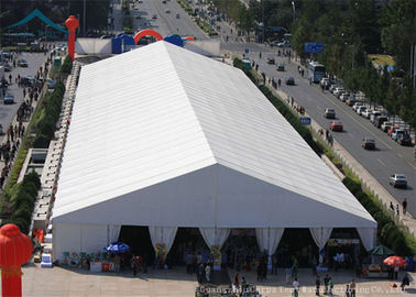 China A-Frame Large Exhibition Event Tents With Aluminum And PVC Tent Fabric, 20m * 30m Big Canopy supplier