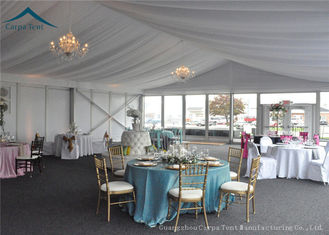 China Aluminium frame Luxury Large Wedding Tents  Decoration 20 mtrs by 50 mtrs supplier