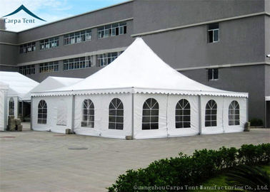 China Durable Long Life Span 8mx8m Canopy Tent Durable Safe Professional supplier