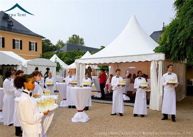 China Small Pagoda Marquee Tents 5x5m 10x10m For Party Event And Exhibiiton supplier