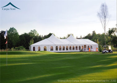 China Easy Set Up Large Mixed  Outdoor Party Tents With Grass Floor  Over 300 People supplier
